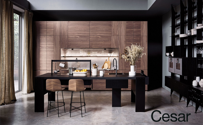 Премиальная кухня Intarsio от Cesar cucine
