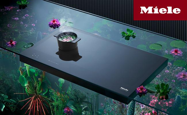 Индукционные панели конфорок серии G7000 от Miele