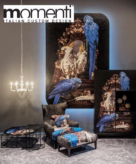 Невероятные принты и текстуры в интерьере от бренда Momenti