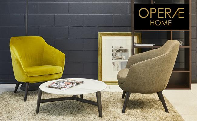 OPERAE Home - эффектная мягкая мебель из Италии