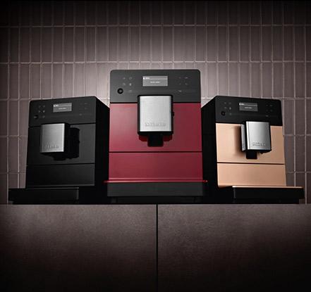 Новые кофемашины серии CM5 от Miele с необычным дизайном