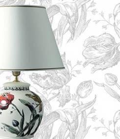 Французский фаянс Gien Коллекция настольных ламп LAMPES (Лампы)