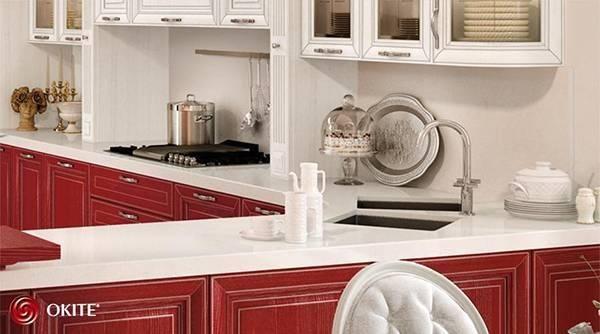Столешницы OKITE® от Lube Cucine: идеальное сочетание прочности и эстетики