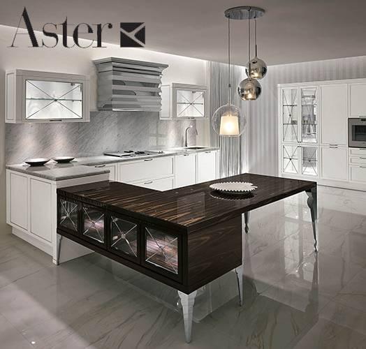 Кухни от итальянской фабрики ASTER CUCINE