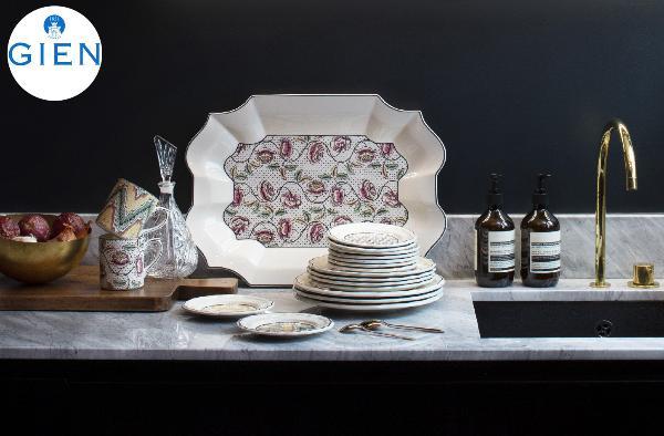 Dominoté – современная коллекция посуды с историческими узорами