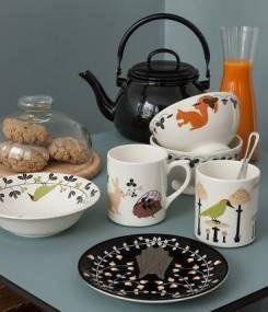Французский фаянс Gien Коллекция посуды для детей LE SECRET (Секрет)