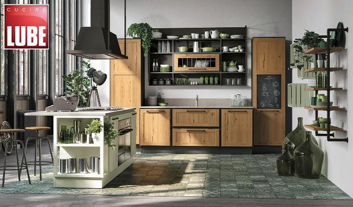 Винтажная кухня Provenza – новинка от Lube cucine