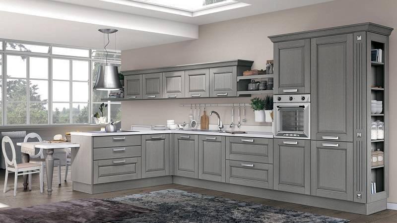 Новый цвет кухни LAURA от фабрики Lube cucine