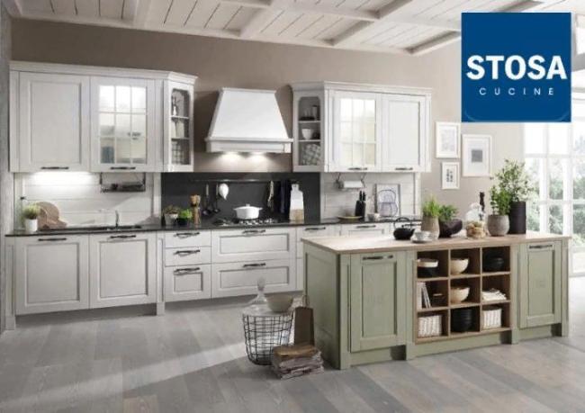 Stosa Cucine – итальянские кухни с уникальным дизайном