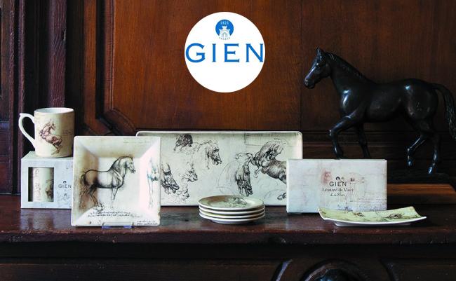 Новая лимитированная историческая коллекция посуды от Gien – Léonard de Vinci