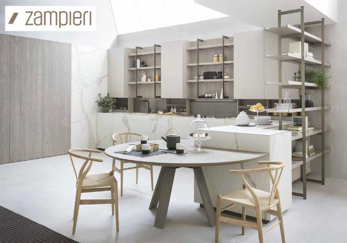 Новинка от Zampieri cucine – кухня Segni