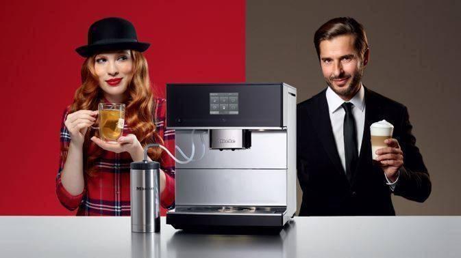 Новая отдельно стоящая кофемашина MIELE серии CM7