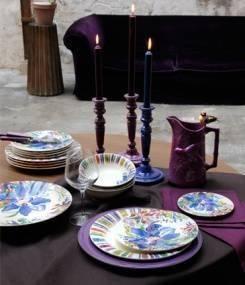 Французский фаянс Gien Яркая коллекция посуды EDEN (Эдем), погружающая в райский сад