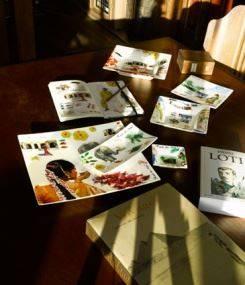 Французский фаянс Gien Коллекция посуды ROUTE DES INDES (Дороги Индии)