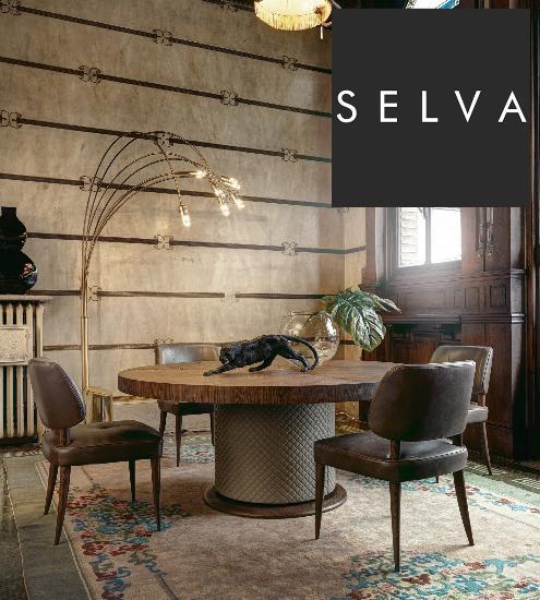 Selva – итальянский бренд, создающий изысканную мебель непревзойденного качества