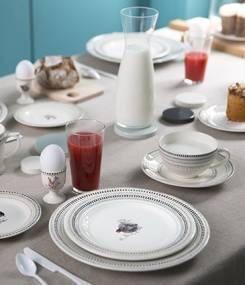 Французский фаянс Gien Коллекция посуды COQUETTES (Кокетки), Курочки