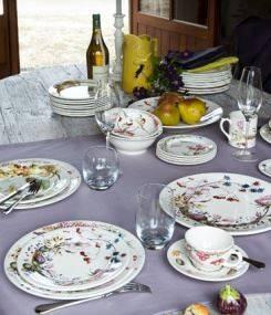 Французский фаянс Gien Коллекция посуды BOUQUET (Букет)