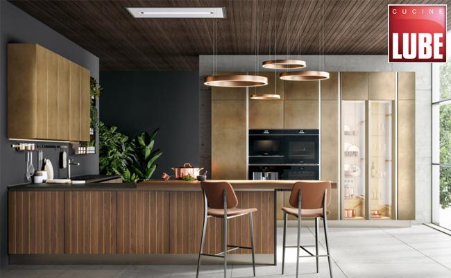 Новая коллекция престижных отделок DESIGN COLLECTION 2020 для кухонь Oltre и Clover от фабрики Lube