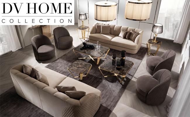 Роскошная мебель от итальянского бренда DV Home