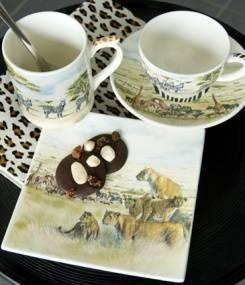 Французский фаянс Gien Коллекция посуды SAFARI (Сафари)
