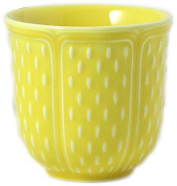 Чашки кофейные PETITS CHOUX Jaune citron 2шт