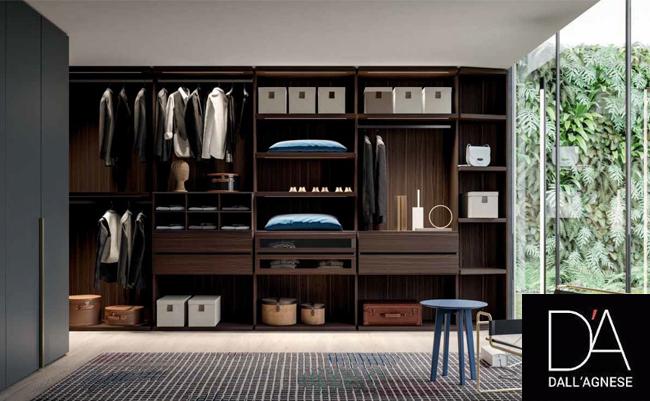 Адаптивные гардеробные от итальянского бренда Dall'Agnese
