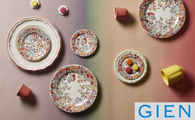 Весенне-летняя цветочная коллекция посуды Poésie – яркая новинка от Gien 2021