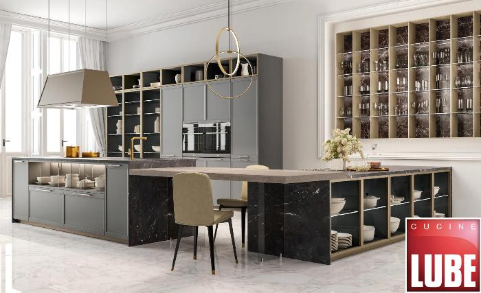 Осенняя новинка 2020 от Lube cucine – элегантная кухня Flavour
