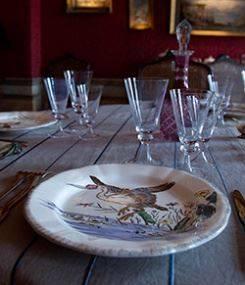 Французский фаянс Gien Коллекционные тарелки с птицами GRANDS OISEAUX (Большие птицы) Prestige