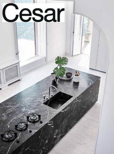 Новая отделка кухни N_Elle от Cesar cucine