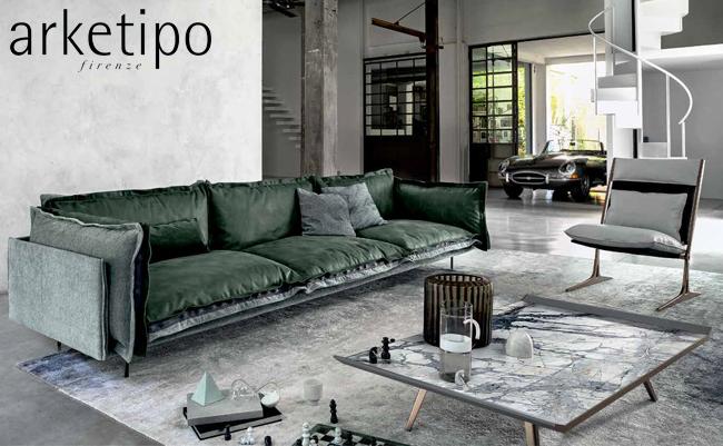 Итальянская мебель Arketipo – классические материалы в инновационном дизайне