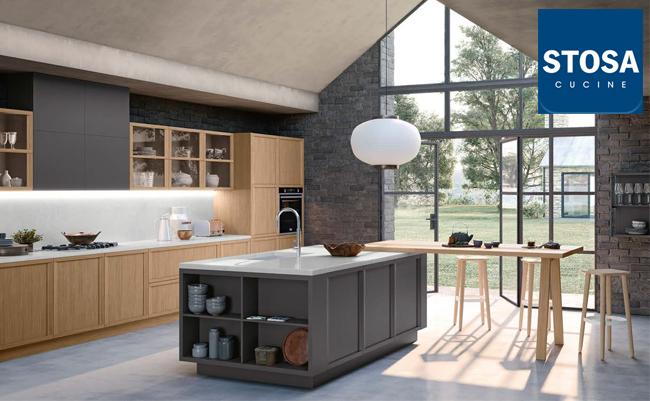 Новинка от Stosa cucine - кухня Newport