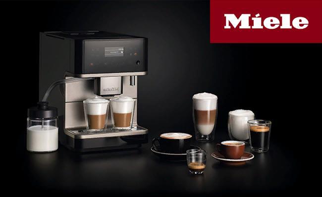 Кофемашины серии CM6 MilkPerfection от Miele – для любителей кофе с молоком