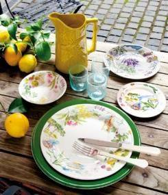 Французский фаянс Gien Коллекция посуды PROVENCE (Прованс)