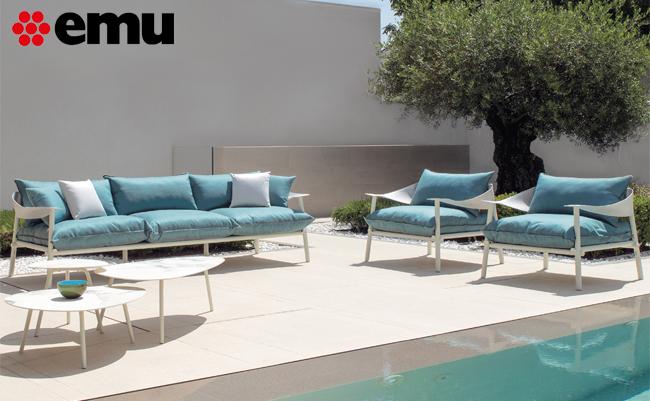 Садовая мебель от итальянской фабрики EMU – красота и технологичность