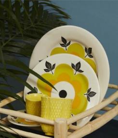 Французский фаянс Gien Сезонная весенне-летняя коллекция посуды MARGUERITE (Маргаритка)