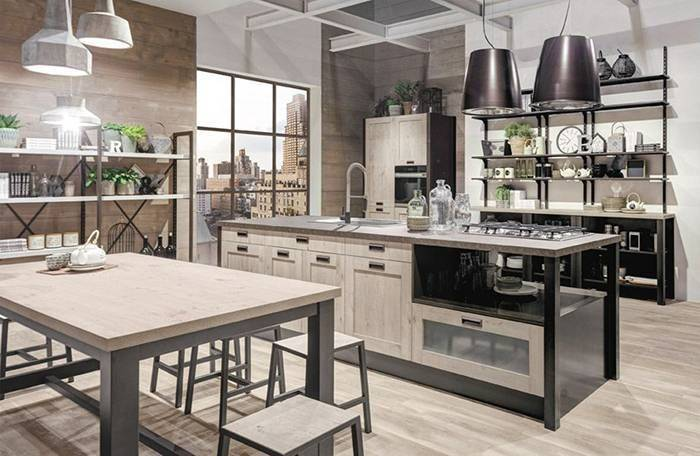 Новая кухня Kyra Telaio от фабрики CREO