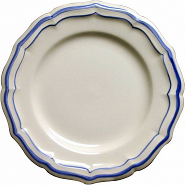 Тарелки для канапе FILET COULEUR синий 4шт