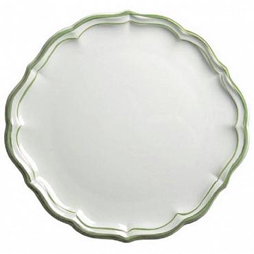Блюдо для пирожных и тортов FILET COULEUR зеленый