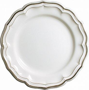 Блюдо круглое глубокое FILET COULEUR коричневый
