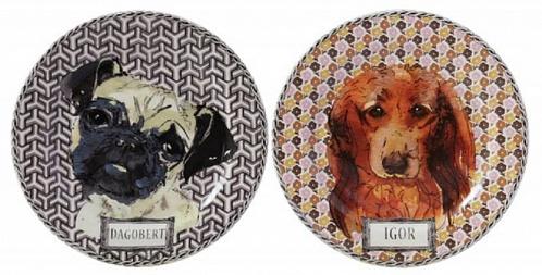 Тарелки для сладостей DARLING DOG 2шт