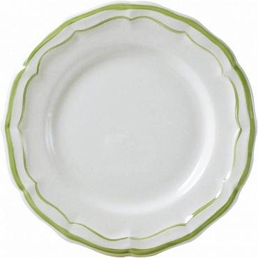 Тарелки FILET COULEUR зеленый 4шт