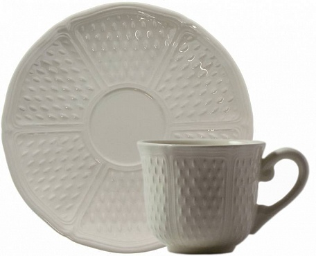 Чайная пара №1 PONT AUX CHOUX blanc 2шт