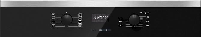Духовой шкаф H2561B CLST сталь CleanSteel
