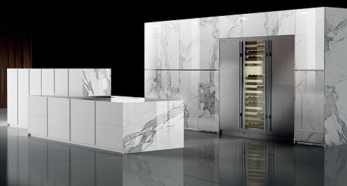 Кухня Luxury Blanco