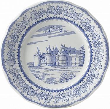 Тарелка десертная LES CHÂTEAUX DE LA LOIRE №5 1шт