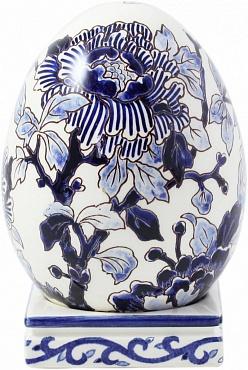 Яйцо на подставке PIVOINES BLEUES
