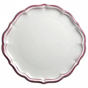 Блюдо для пирожных и тортов FILET COULEUR розовый