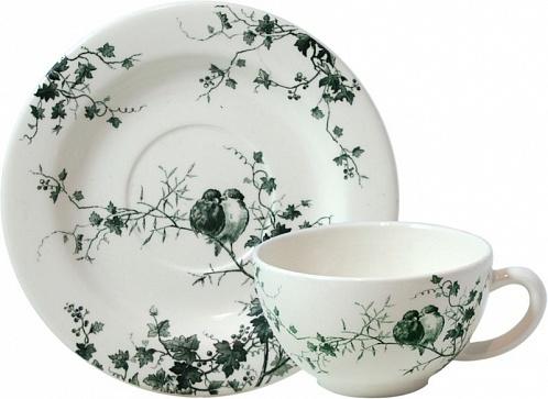 Чайная пара для завтрака Les Oiseaux 2шт