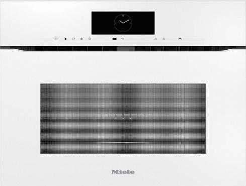 Духовой шкаф с СВЧ H7840BMX BRWS бриллиантовый белый